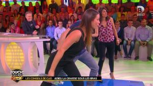 Estelle Denis et Clio Pajczer dans Touche pas à mon Sport - 08/04/16 - 02