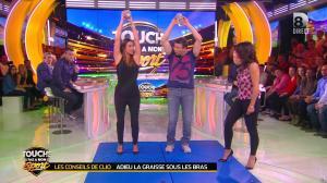 Estelle Denis et Clio Pajczer dans Touche pas à mon Sport - 08/04/16 - 03