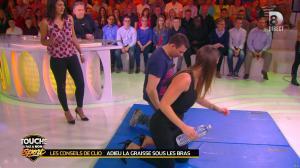 Estelle Denis et Clio Pajczer dans Touche pas à mon Sport - 08/04/16 - 04