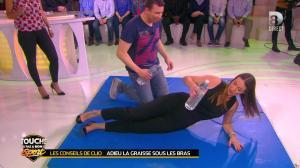 Estelle Denis et Clio Pajczer dans Touche pas à mon Sport - 08/04/16 - 05