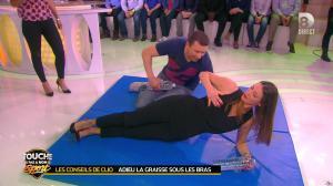 Estelle Denis et Clio Pajczer dans Touche pas à mon Sport - 08/04/16 - 06