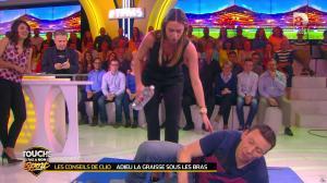 Estelle Denis et Clio Pajczer dans Touche pas à mon Sport - 08/04/16 - 07