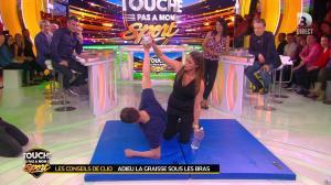 Estelle Denis et Clio Pajczer dans Touche pas à mon Sport - 08/04/16 - 08