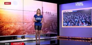 France Pierron dans L Equipe du Matin - 04/07/16 - 02