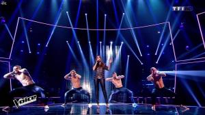 Hajiba Fahmy dans The Voice - 09/04/16 - 03