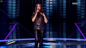 Hajiba Fahmy dans The Voice - 09/04/16 - 04