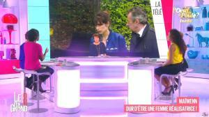 Hapsatou Sy et Aïda Touihri dans le Grand 8 - 01/10/15 - 05
