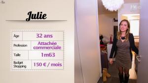 Julie dans les Reines du Shopping - 06/04/16 - 02