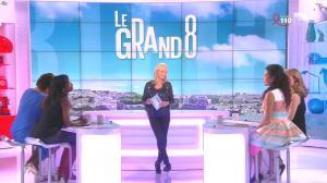 Laurence Ferrari, Hapsatou Sy, Aida Touihri et Elisabeth Bost dans le Grand 8 - 01/04/16 - 03