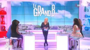 Laurence Ferrari, Hapsatou Sy, Aida Touihri et Elisabeth Bost dans le Grand 8 - 01/04/16 - 17