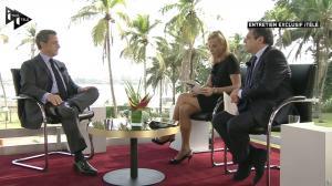 Laurence Ferrari dans Interview i télé - 19/03/16 - 02