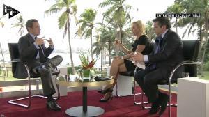 Laurence Ferrari dans Interview i>Télé - 19/03/16 - 05