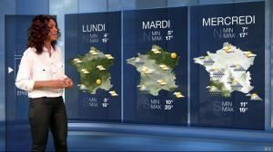 Laurence Roustandjee à la Météo du Soir - 13/04/16 - 02