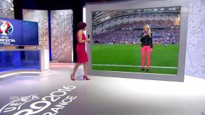 Nathalie Renoux et Carine Galli dans 100 pour cent Foot - 11/06/16 - 02