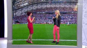 Nathalie Renoux et Carine Galli dans 100 pour cent Foot - 11/06/16 - 03