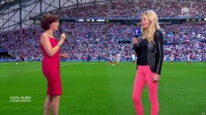 Nathalie Renoux et Carine Galli dans 100 pour cent Foot - 11/06/16 - 04