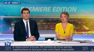 Pascale De La Tour Du Pin dans Premiere Edition - 25/04/16 - 14