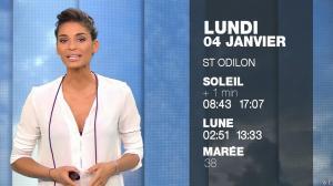 Tatiana Silva à la Météo du Soir - 03/01/16 - 06