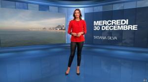 Tatiana Silva à la Météo du Soir - 30/12/15 - 01