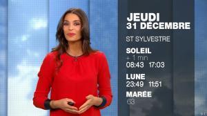 Tatiana Silva à la Météo du Soir - 30/12/15 - 11