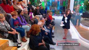 Faustine Bollaert dans Ca Commence Aujourd hui - 06/04/18 - 06