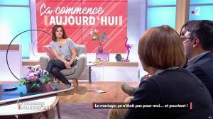 Faustine Bollaert dans Ca Commence Aujourd hui - 28/03/18 - 05