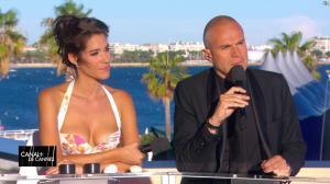 Laurie Cholewa dans Canal Plus de Cannes - 19/05/17 - 06