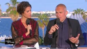 Laurie Cholewa dans Canal Plus de Cannes - 22/05/17 - 03