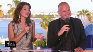Laurie Cholewa dans Canal Plus de Cannes - 23/05/17 - 01