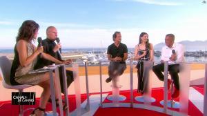 Laurie Cholewa dans Canal Plus de Cannes - 23/05/17 - 03