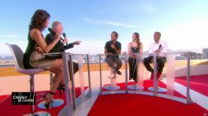 Laurie Cholewa dans Canal Plus de Cannes - 23/05/17 - 06