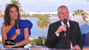 Laurie Cholewa dans Canal Plus de Cannes - 24/05/17 - 06