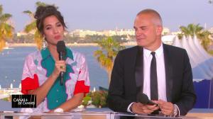 Laurie Cholewa dans Canal Plus de Cannes - 25/05/17 - 01