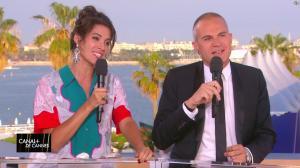 Laurie Cholewa dans Canal Plus de Cannes - 25/05/17 - 02