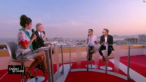 Laurie Cholewa dans Canal Plus de Cannes - 25/05/17 - 06