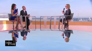 Laurie Cholewa et Diane Kruger dans Canal Plus de Cannes - 24/05/17 - 03