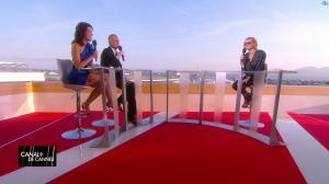 Laurie Cholewa et Diane Kruger dans Canal Plus de Cannes - 24/05/17 - 07