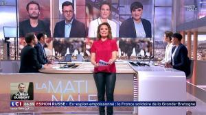 Pascale De La Tour Du Pin dans la Matinale - 14/03/18 - 08