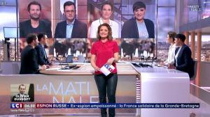 Pascale De La Tour Du Pin dans la Matinale - 14/03/18 - 09