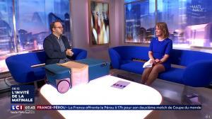 Pascale De La Tour Du Pin dans la Matinale - 21/06/18 - 08