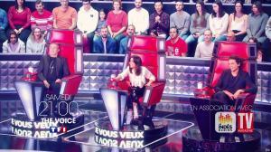 Jenifer Bartoli dans une Bande-Annonce de The Voice - 18/04/19 - 02