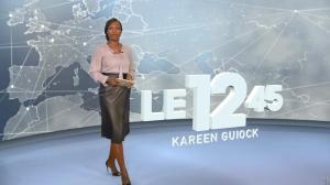Kareen Guiock dans le 12-45 - 10/01/19 - 01