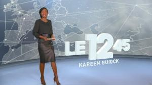 Kareen Guiock dans le 12-45 - 17/01/19 - 01