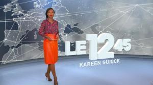 Kareen Guiock dans le 12-45 - 19/12/18 - 01