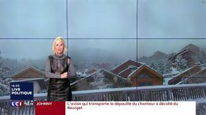 Karine Fauvet à la Météo - 10/12/17 - 03
