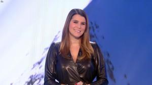 Karine Ferri lors du Tirage du Loto - 07/01/19 - 02