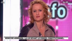 Caroline Roux dans la Matinale - 01/02/12 - 01