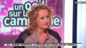 Caroline Roux dans la Matinale - 01/02/12 - 04