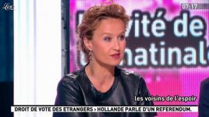 Caroline Roux dans la Matinale - 03/05/12 - 03