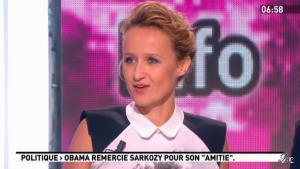 Caroline Roux dans la Matinale - 08/05/12 - 01